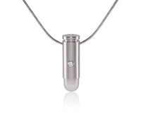 PT120W B.Tiff Kuglo Stainless Steel Pendant Necklace