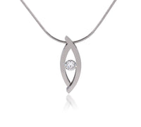 PT128W B.Tiff Deziras Stainless Steel Pendant Necklace