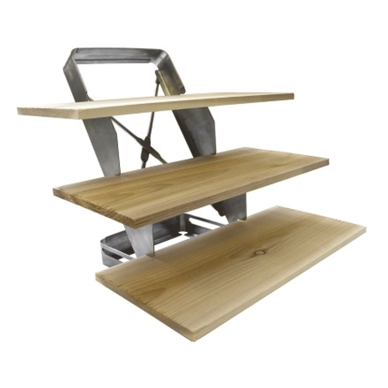 Charcoal Companion 3 Tier Plank Rack