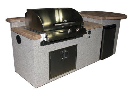San Tropez Outdoor Kitchen Island