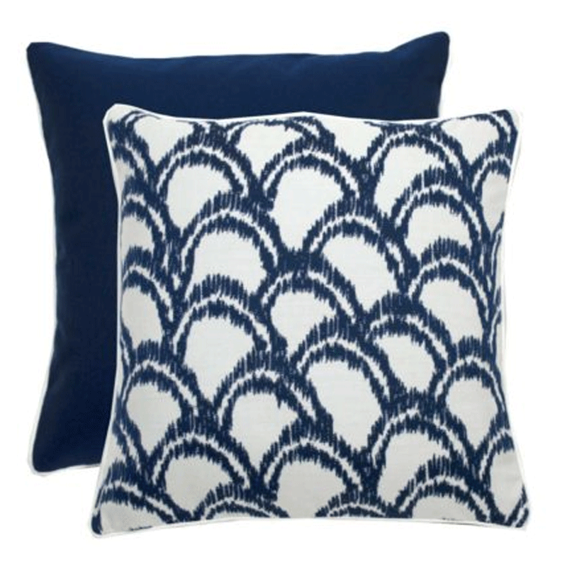 Wendy Jane Alena Pillow - Indigo