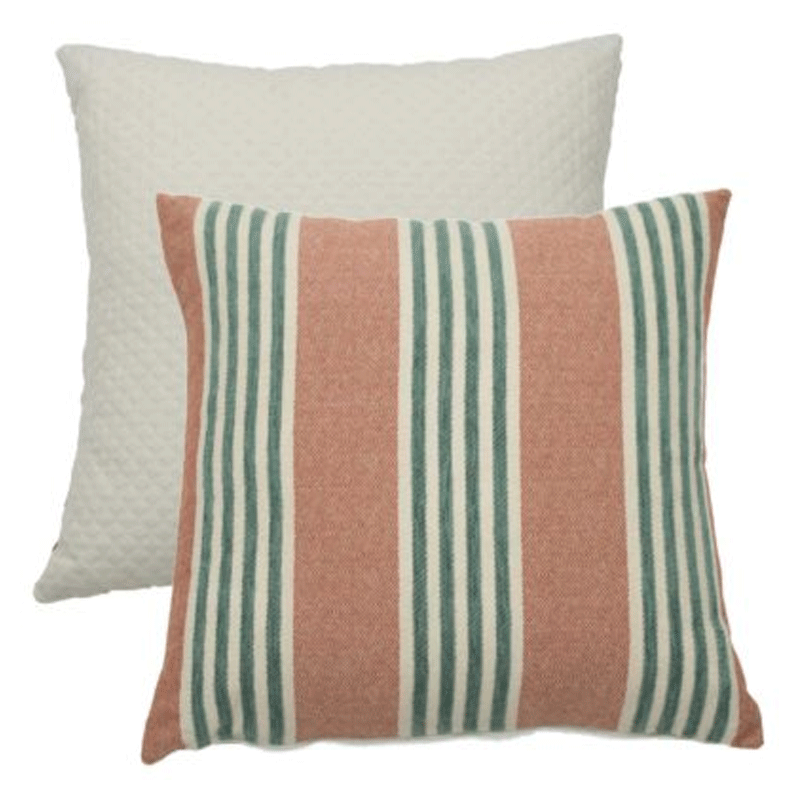 Wendy Jane Bradford Stripe Pillow - Cajun