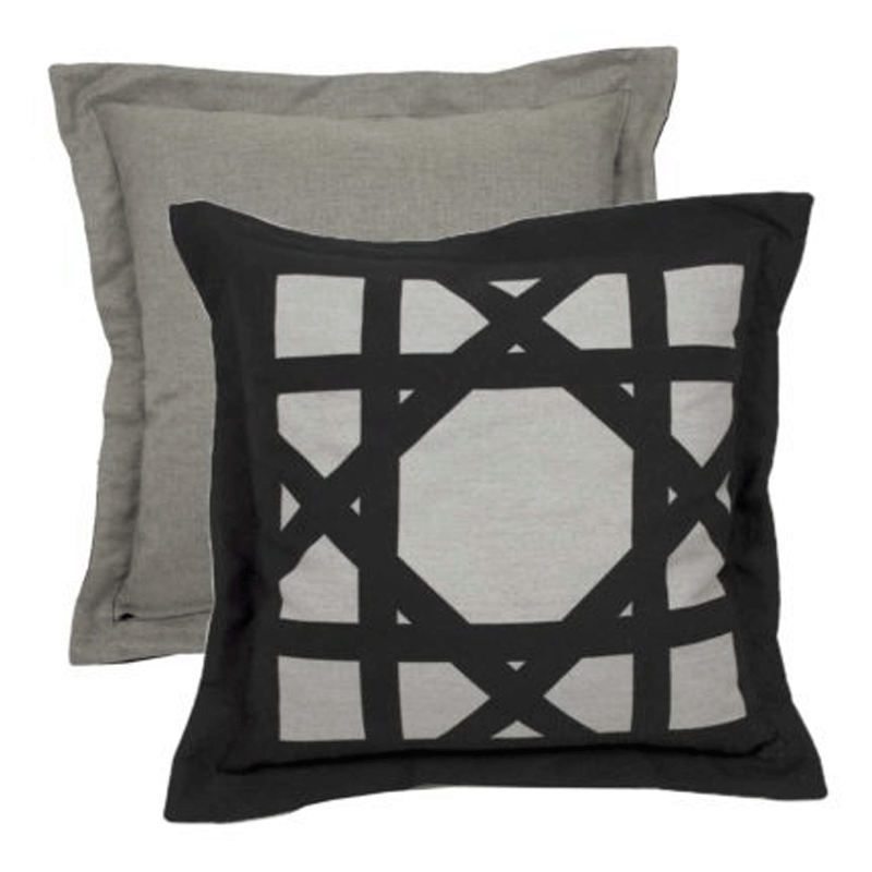Wendy Jane Cane Pillow - Midnight