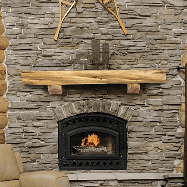 Pearl Cedar Mantel Shelf