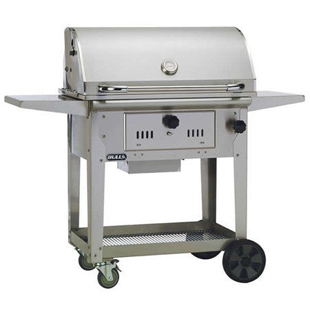 Bull Outdoor Bison Cart Charcoal Grill