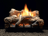Empire Flint Hill Ceramic Fiber Log Set with Burner