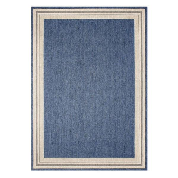 Treasure Garden Garden Cottage Rug - Blueberry
