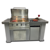 BayPointe Outdoors Biscayne Series Stucco/Tile KD Kitchen