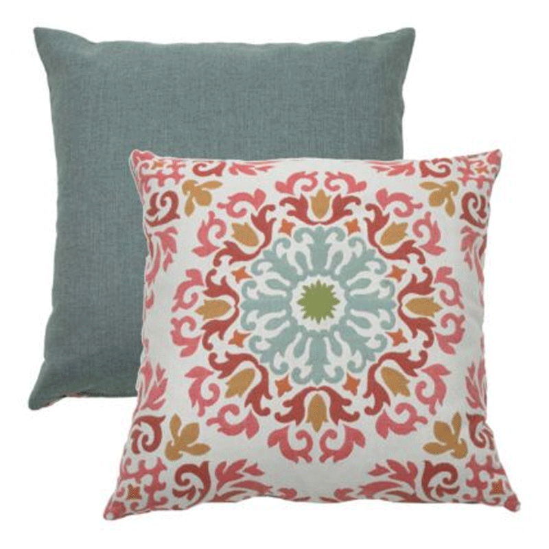 Wendy Jane Molto Medallion Pillow - Mist