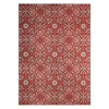 Treasure Garden Mosaic Rug - Ruby
