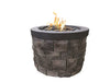 BayPointe Outdoors Urban Slate Grey Series Fire Pit