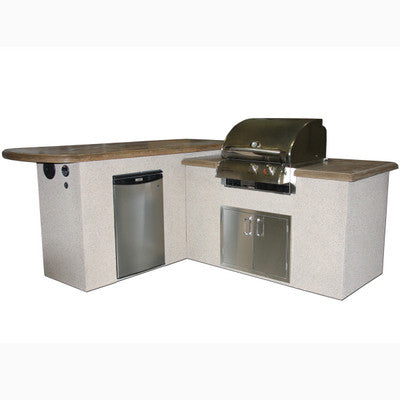St. Anthony Outdoor Kitchen Island