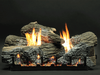 Empire Stacked Wildwood Refractory Log Set with Burner