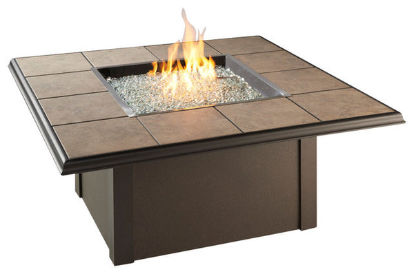 Square Napa Valley Fire Pit Table