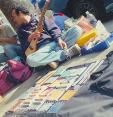 Transient Books on the road in Mexico, 1998.