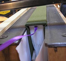 Flat Back Binding by Transient Books