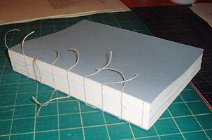 Tight Back Binding Process by Transient Books