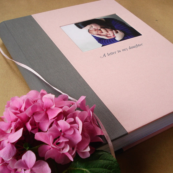 Exquisite Heirloom Baby Journal · Custom Pregnancy Planner· Letters to Baby· Gift for New Mom & Dad - Transient Books