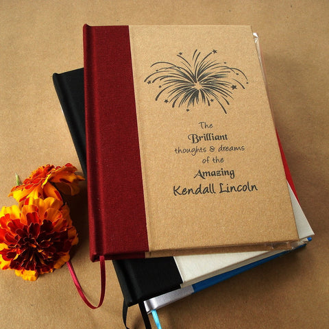 Custom Blank Journal/Diary/Notebook - Design your own. Made to order. - Transient Books