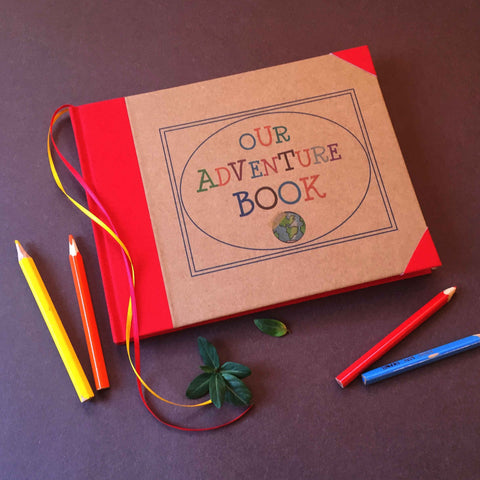 FREE SHIPPING · Our Adventure Book · UP! · Travel Scrapbook · Adventure Wedding Album  · Anniversary Scrapbook