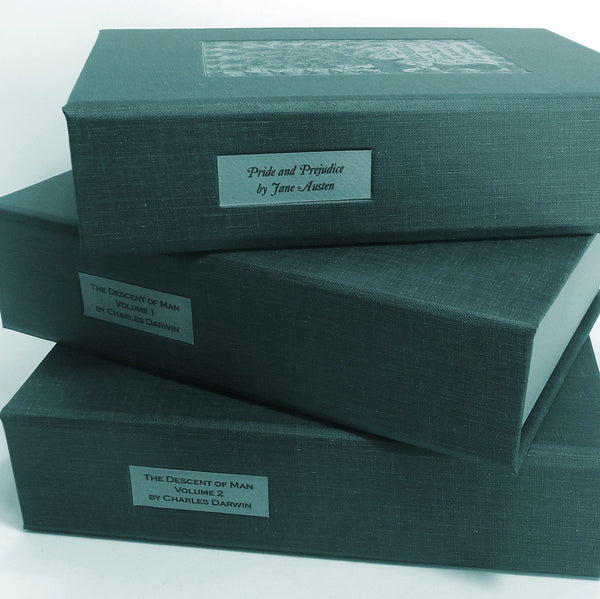 Custom Clam Shell Box to Protect First Edition Books · Portfolio Box for Priceless Manuscripts - Transient Books