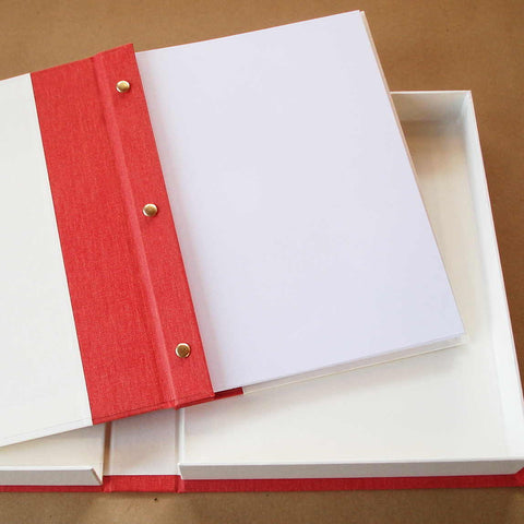 Custom Portfolio Book · Personalized Presentation Album · REMOVABLE PAGES · Sample Book - Transient Books