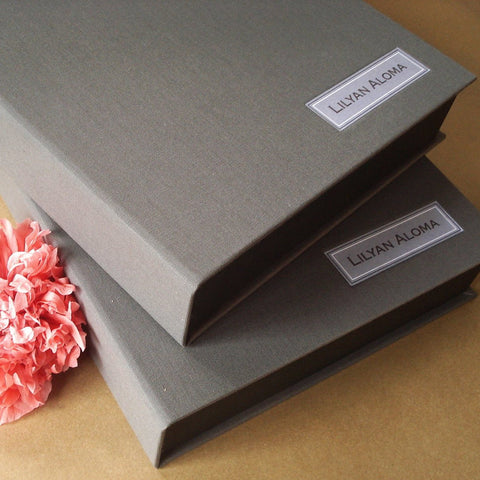 Custom Clam Shell Box · Portfolio Box for Photographers, Artists, Architects, and for you. - Transient Books