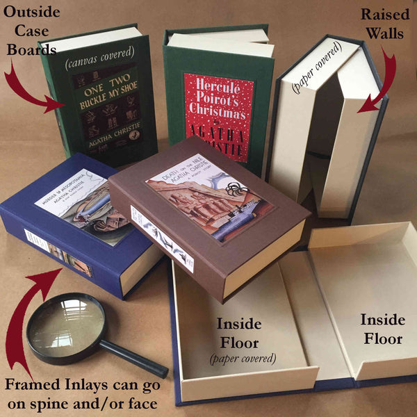 Custom Clam Shell Memento Box · Portfolio Box · Memorabilia Keepsake Box - Transient Books