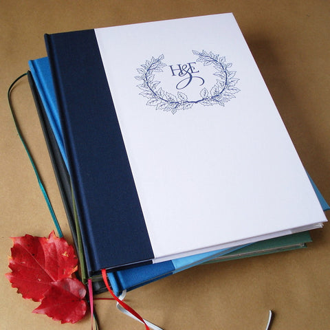 Custom Blank Journal/Diary/Notebook - Design your own. Made to order.
