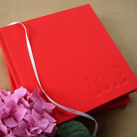 LOVE IS BLIND. · Anniversary Journal · Valentine Diary · Wedding Keepsake