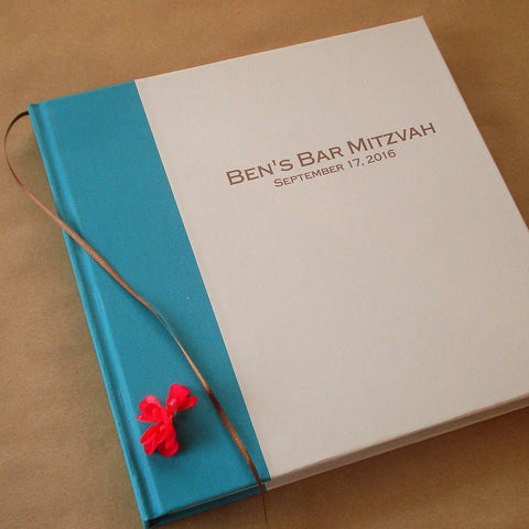 Custom Bar / Bat Mitzvah Photo Booth Guest Book · Scrapbook · Photo Album - Transient Books