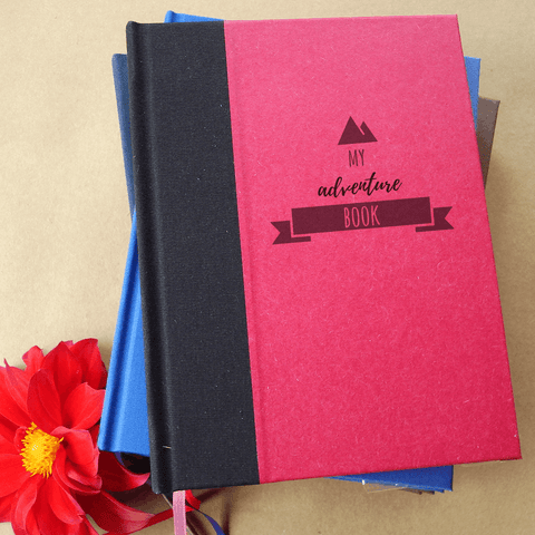 My Adventure Book · Custom Travel Journal · Gift for Traveler