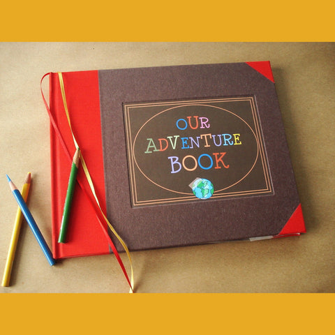 Our Adventure Book · UP! · Travel Scrapbook · Adventure Wedding Album  · Anniversary Scrapbook