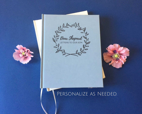 FREE SHIPPING Letters to Baby · Custom Baby Journal · Pregnancy Planner Notebook · Personalized Baby Shower Gift - Transient Books