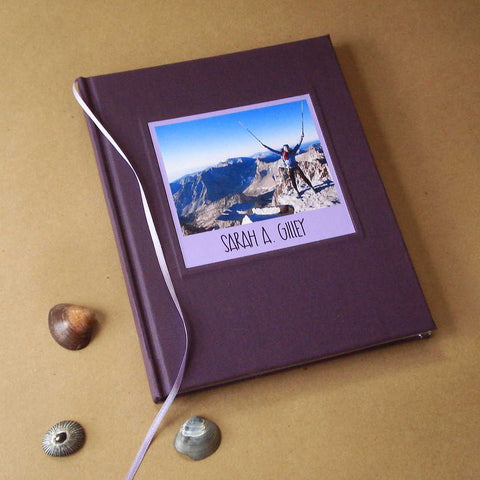 Custom Blank Journal · Personalized Travel Diary · Gift for Writers & Travelers - Transient Books