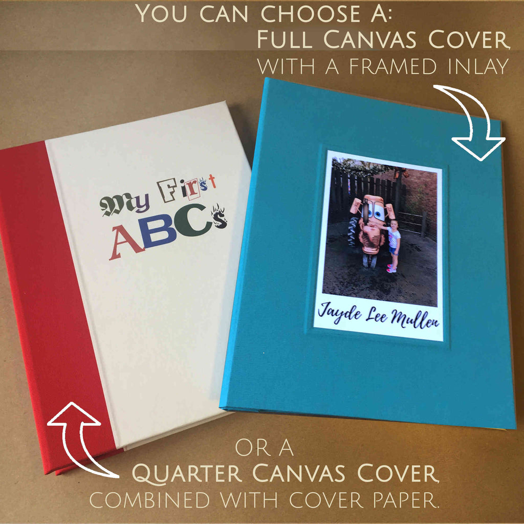 Personalized Baby Scrapbook Refillable Pages Photo Album Baby