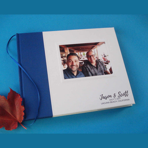 Love Won! Custom Gay & Lesbian Wedding Guest Book · LGBT Marriage Keepsake Album · Anniversary Gift - Transient Books