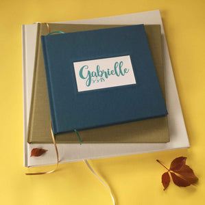 Custom Scrapbook · Personalized Photo Album · DIY Scrapbook Album Portfolio - Transient Books