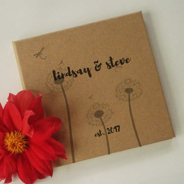 CUSTOM Wedding Anniversary Journal Gift · DIY Paper Anniversary Keepsake Notebook · Enjoy the Wide Variety of Designs - Transient Books