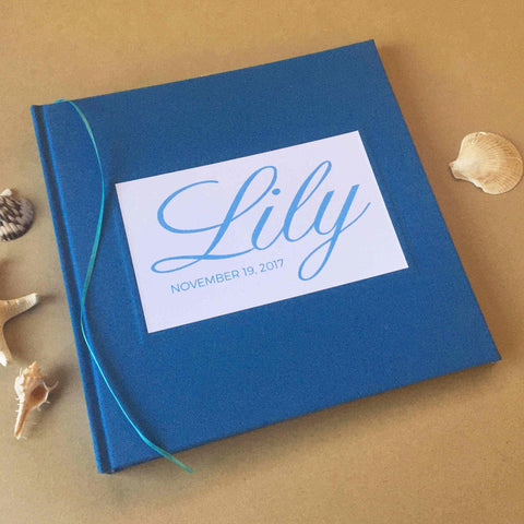 My First Year · Baby Scrapbook Album · Baby Photo Album ·  Memory Keepsake Journal for Baby's First Year