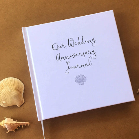 Our Wedding Anniversary Journal · Timeless First Anniversary Gift · Paper Anniversary Keepsake