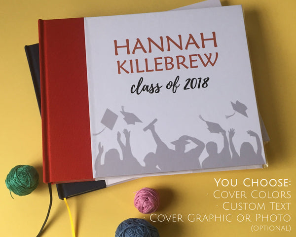 Graduation Party Guest Book · Graduation Party Decor · Gift for the Graduate - Transient Books