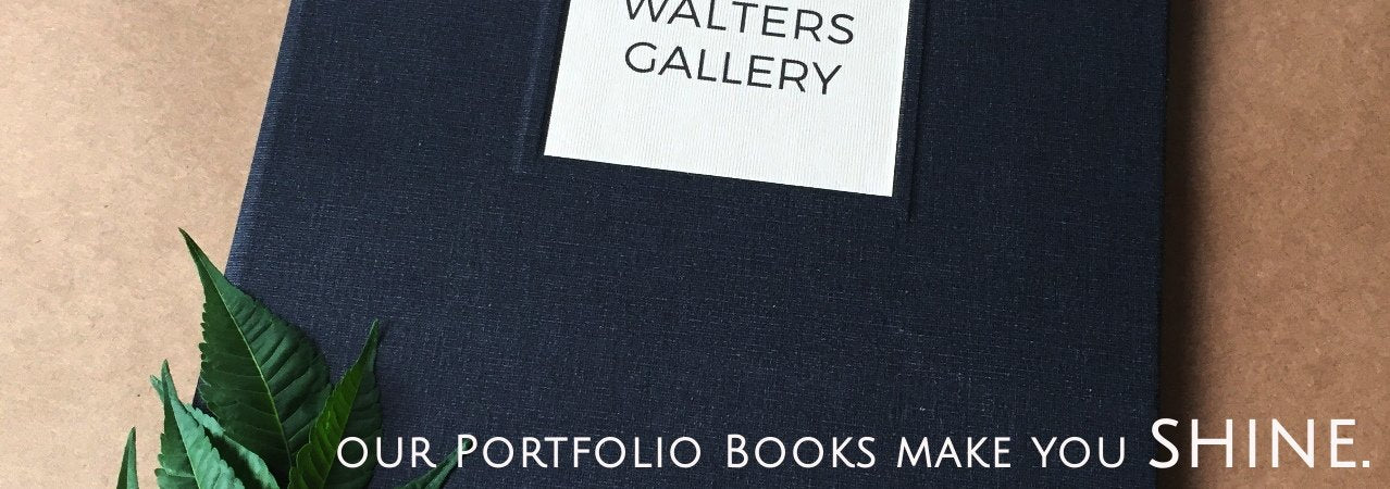 Executive Portfolio Book · Custom Presentation Album