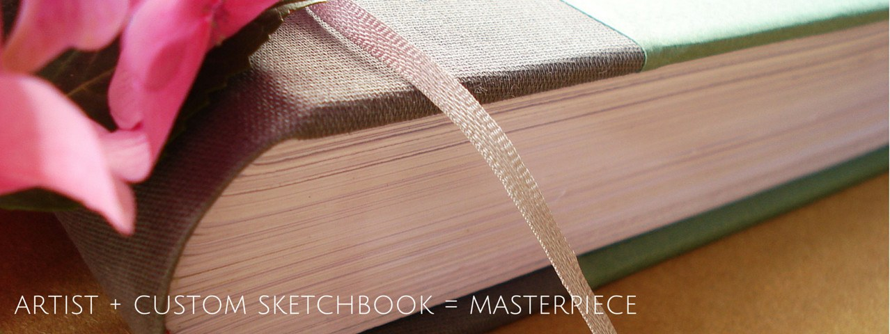 Custom Sketchbooks & Notebooks - Personalized Artist Notebook - Gift for Artist