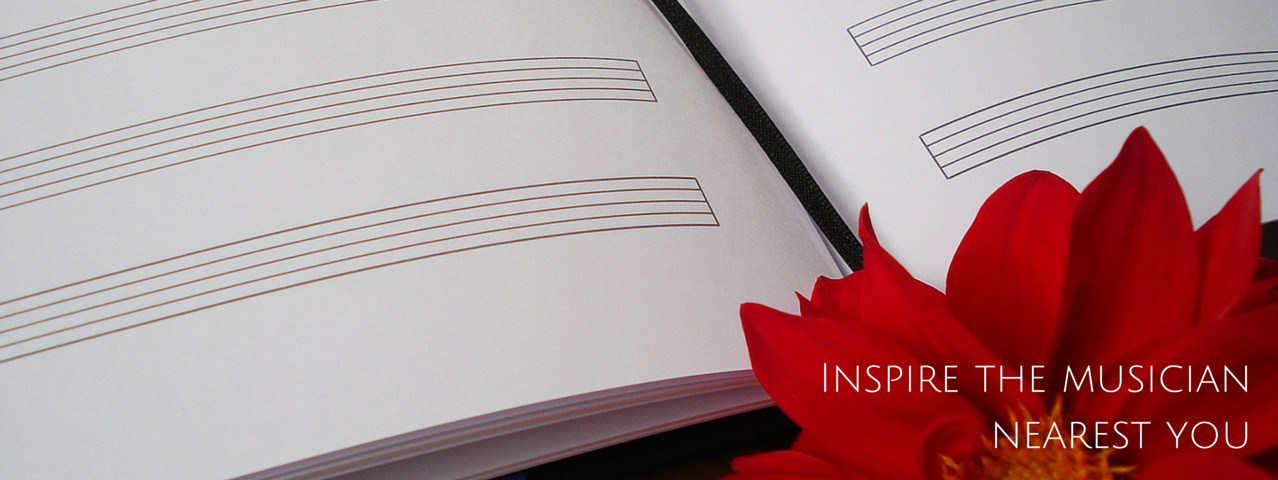 Custom Composer's Journals · Musician's Notebooks · Gift for Musician Composer · Blank Sheet Music Book