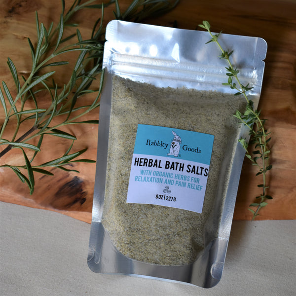 Herbal Bath Salts 8 oz