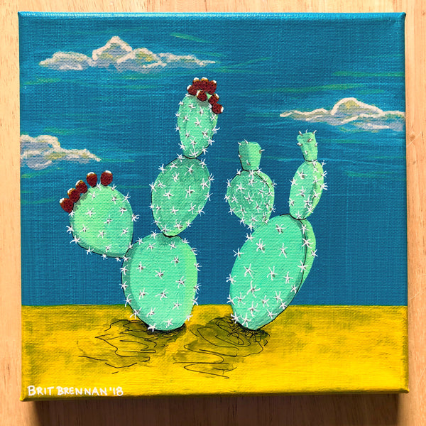 Desert Plant Series No. 4 - Prickly Pear