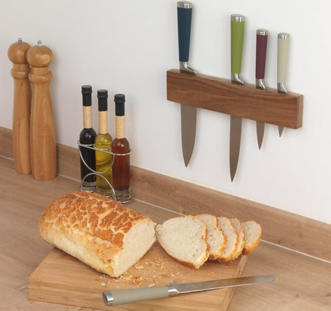 Salter 5PC Knife Set With Rack