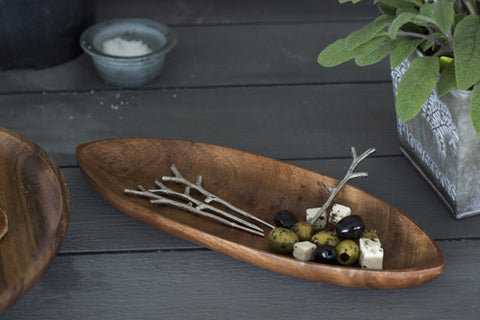 Acacia Appetiser Bowl with Picks