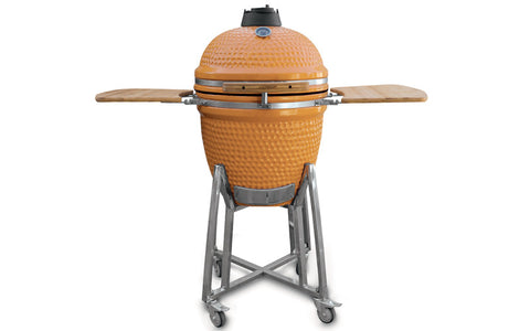 Large Ceramic BBQ in Orange